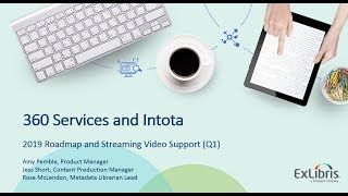Download 360 and Intota Update - 2019 Roadmap and Upcoming Release Video