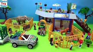 Download Playmobil Animals Zoo Building Playset - Fun Animal Toys For Kids Video