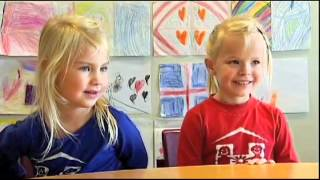 Download (Icelandic) fyrstu skrefin kids talking Video