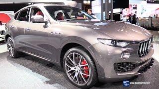 Download 2017 Maserati Levante SUV - Exterior and Interior Walkaround - Debut at 2016 New York Auto Show Video