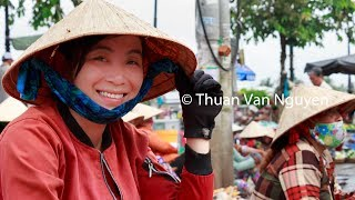 Download Vietnam || O Mon Village Market || Can Tho City Video