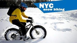 Download Snow Biking NYC Video! Video
