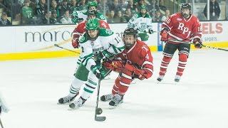 Download UND hockey - Highlights vs RPI - 10/15/16 Video