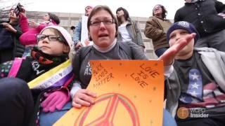 Download Cincinnati protesters head to Women's March on Washington Video