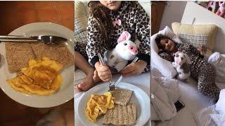 Download شاهد جويل تحضر الفطور إلى سرير ابنتها و تلقبها بالأميرة Video