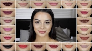 Download Ofra Long Lasting Liquid Lipsticks Swatches & Review! Video