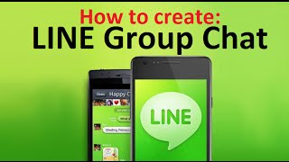 Download How to Create GROUP CHAT on LINE App for Android Phones Video