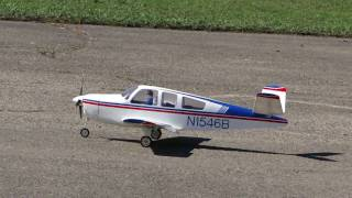 Download RC Beech 35 Bonanza V-Tail Maiden Flight Video