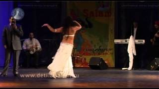 Download Olga Nour belly dancer - Al Salam oriental festival. Ольга Нур Video