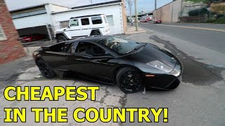 Download Buying a SALVAGE Lamborghini Murcielago?! Video
