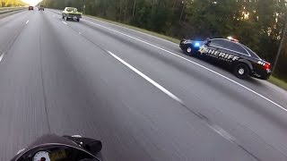 Download Motorcycle Police Chases Compilation #12 - FNF Video