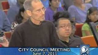Download Steve Jobs Presents to the Cupertino City Council (6/7/11) Video
