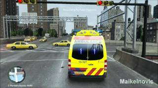 Download GTA4: [Paramedic Mod] - EMS 10-187 - Respond to Fallen Person Video