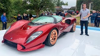 Download The Most Beautiful Car In The World - $800,000 De Tomaso P72! Video