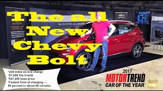 Download 2017 Motor Trend Car of the year Chevy Bolt EV The 1st relatively affordable long-range electric car Video