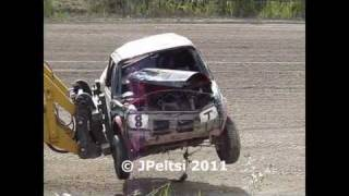 Download Jokkis Liiga/Team race 4.9.2011 Kaanaa, Spectacular crashes Video