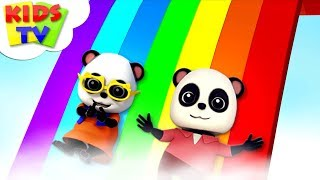 Download Rainbow Colors Song | Baby Bao Panda | Kindergarten Nursery Rhymes For Children Video