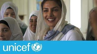 Download Priyanka Chopra's emotional visit with Syrian refugee girls Video