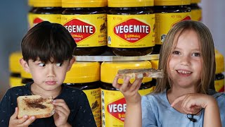 Download Kids Try Vegemite For The First Time Video