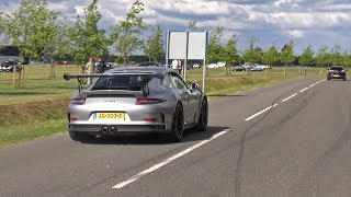 Download Porsche 991 GT3 RS w/ LOUD iPE SCREAMING ON TRACK! Video