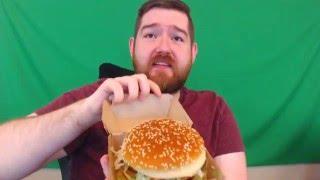 Download Grand Mac - McDonald's Giant Big Mac | FAT SNACKS Video