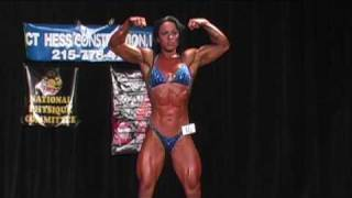 Download 21 year old female bodybuilder Hayley McNeff posing at the 2009 Delaware State competition Video