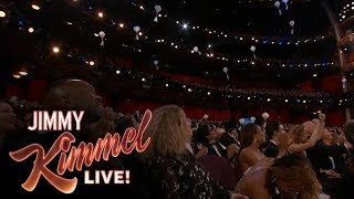 Download Jimmy Kimmel Drops Candy for Celebrities at the Oscars Video