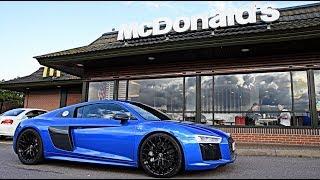 Download WORST McDonald's Roulette: Audi R8 V10 Plus!! Video