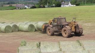 Download silage 2016 - baling, carting, wrapping and stacking silage bales Video