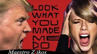 Download Trump Sings Look What You Made Me Do by Taylor Swift / NOW ON iTUNES Video