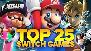 Download Top 25 Nintendo Switch Games (Fall 2017) Video