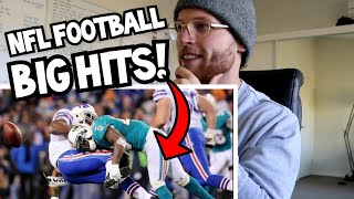 Download Rugby Player Reacts to NFL Biggest Football Hits Ever YouTube Video! Video