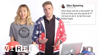 Download U.S. Olympic & Paralympic Athletes Answer Olympics Questions From Twitter | Tech Support | WIRED Video