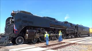 Download Union Pacific 844 Departs Cheyenne, WY July 2018 Video