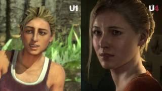 Download Uncharted: Graphics Comparsion 1 Vs 2 Vs 3 Vs 4 (1080p) Video