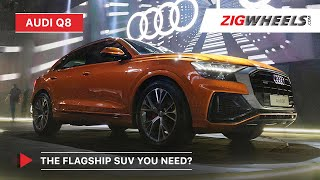 Download Audi Q8 SUV Launched In India | Price, Features & More! | Zigwheels Video