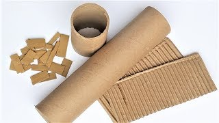 Download 5 Wonderful DIY From Waste Material | Easy and Useful Cardboard Roll Craft Video