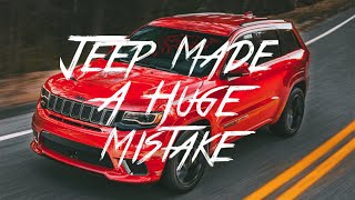 Download Jeep Made Huge Mistake With The 2018 Trackhawk!! Video