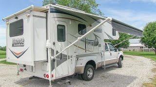 Download 2013 Lance 1172 slide-in truck camper walk-around tutorial video Video