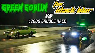 Download DONKMASTER & THE BLACK BLUR VS GREEN GOBLIN REGAL $2000 GRUDGE RACE - Battle of the Streets 3 Video