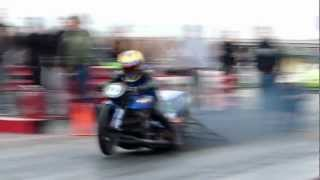 Download Pro Nitrous Drag Bike 1/8 Mile 4.28 @ 166 mph Video