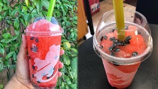 Download Taco Bell DEBUTS New Watermelon Freeze With Candy Seeds Video