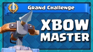 Download How To Become an XBOW MASTER | Clash Royale Xbow Grand Challenge Video