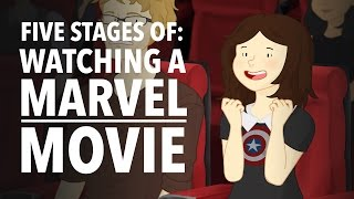 Download Five Stages of Watching A Marvel Movie - HISHE Features: OnlyLeigh Video