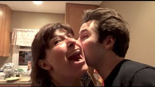 Download KISSING MY FRIENDS MOM!! | David Dobrik Video