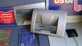 Download ATM skimming: How to spot an ATM skimmer - TomoNews Video