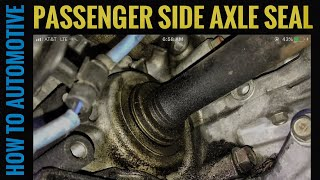 Download How to Replace the Passenger Side Axle Seal on a 2004-2008 Acura TSX Video