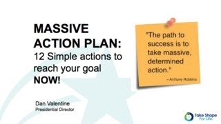 Download Massive Action Plan To Reach Your Goals Video