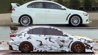 Download Crazy Sports Car Transformation! Video