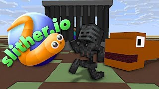 Download Monster School : SLITHER.iO CHALLENGE - Minecraft Animation Video